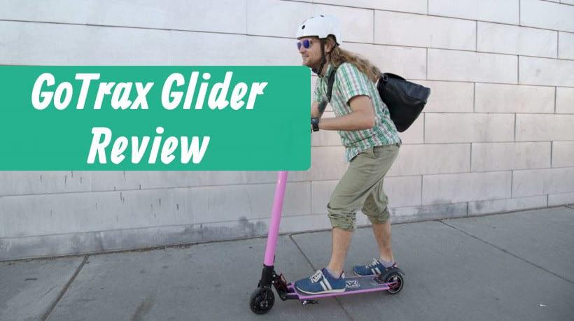 Riding the gotrax glider