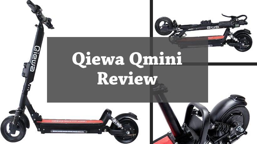 A close look at the Qiewa Qmini scooter