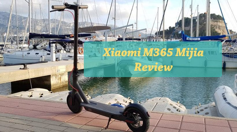 The xiaomi electric scooter