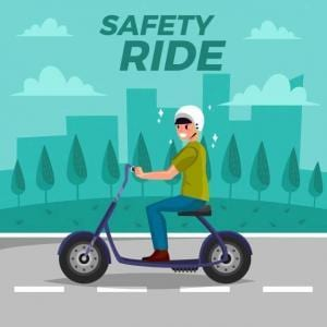Ride safely for kids