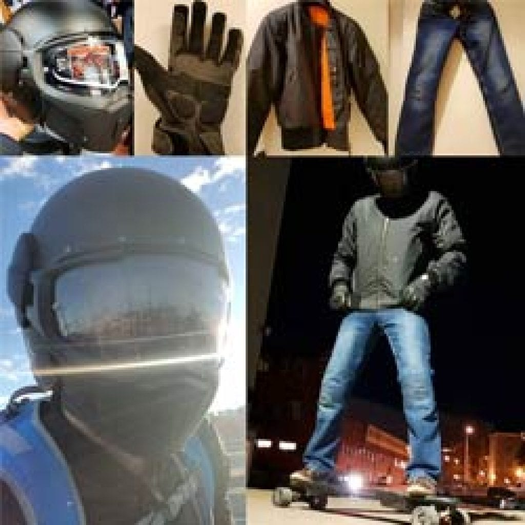 safety gear to ride recommend