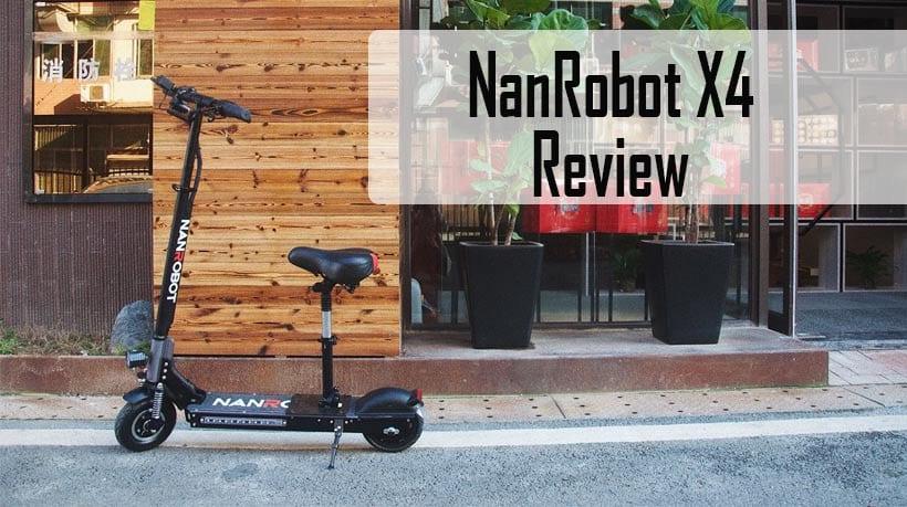 Nanrobot X4 outside riding overview