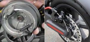 Ninebot max drum vs xiaomi pro disc brake