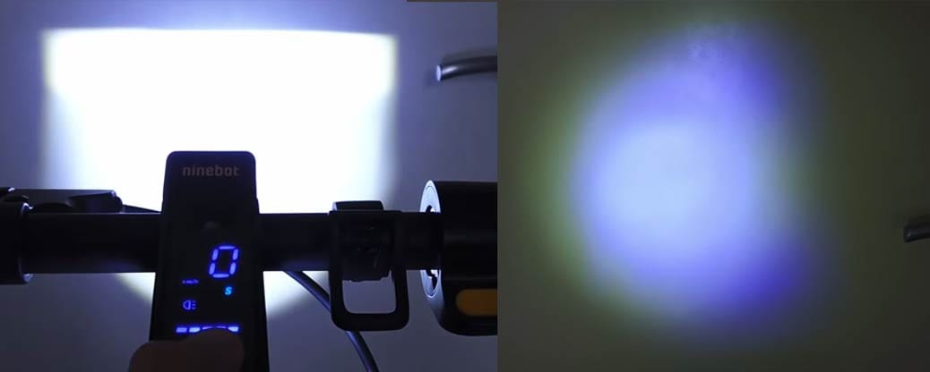 headlight effect in the dark