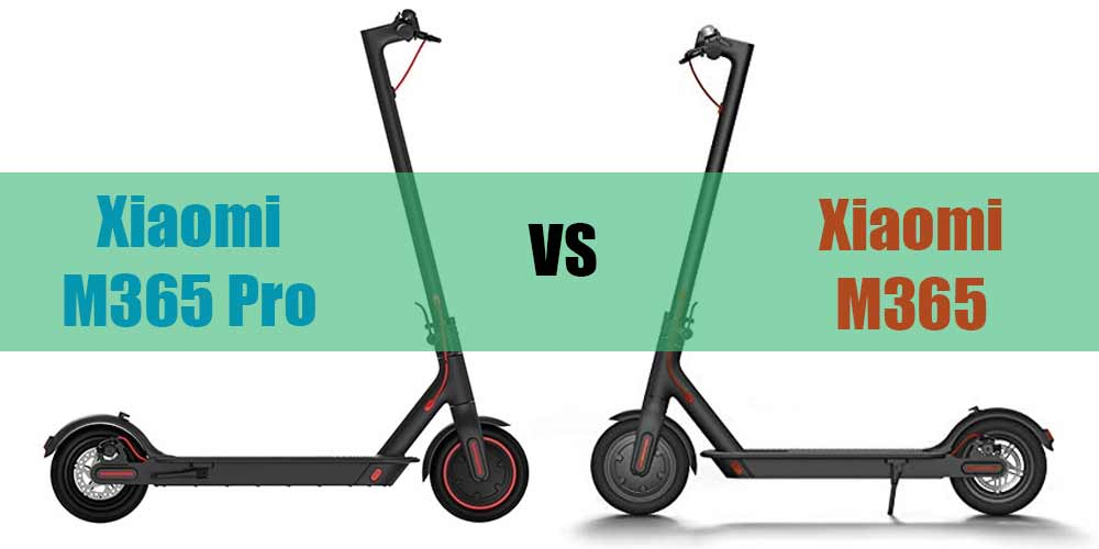 Xiaomi m365 vs Xiaomi m365 pro showdown comparison