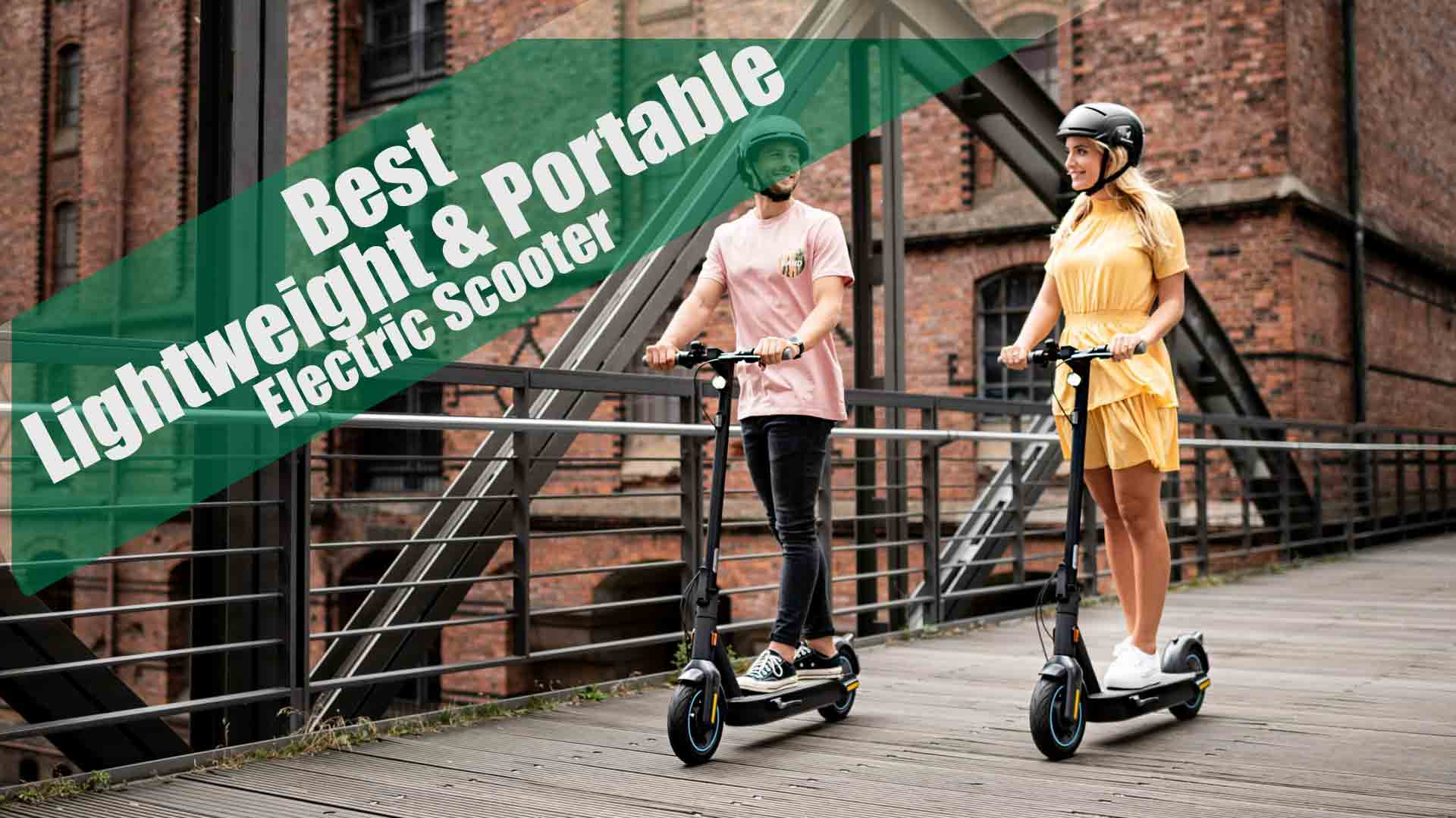 Top lightweight and portable electric scooter