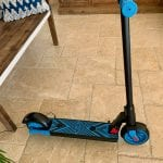 GoTrax Blue Electric Scooter