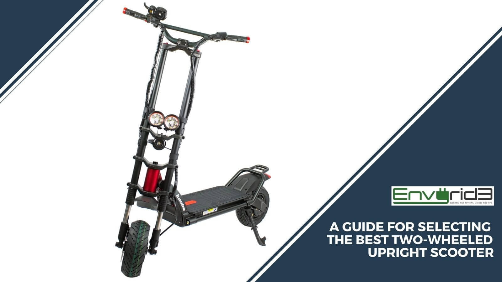 A Guide For Selecting The Best Two Wheeled Upright Scooter