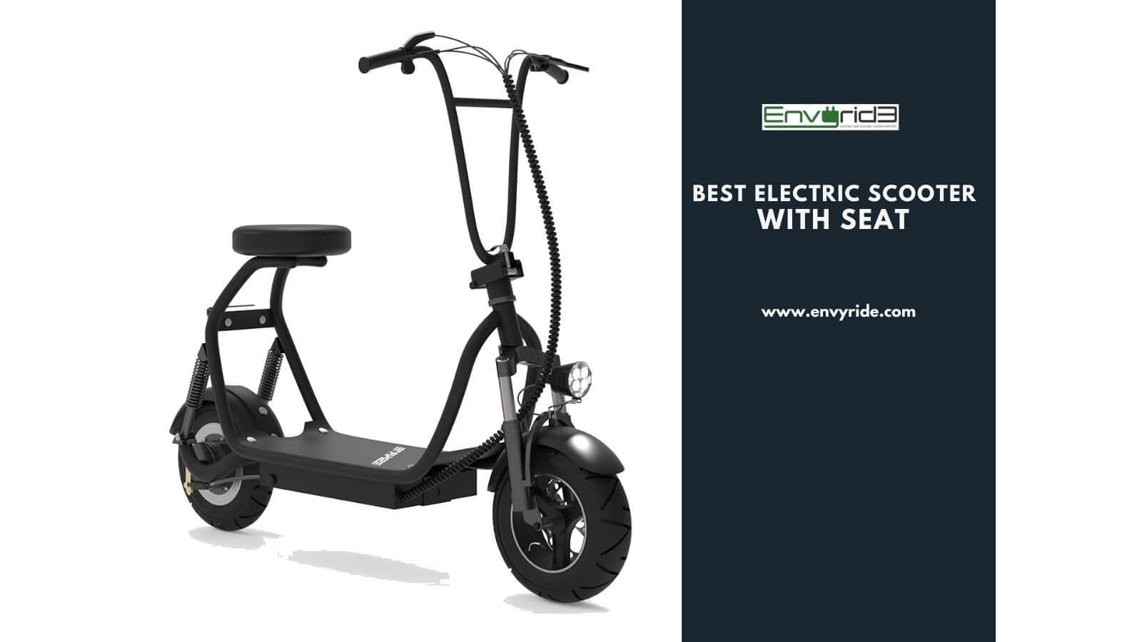 The best electric scooter with seat