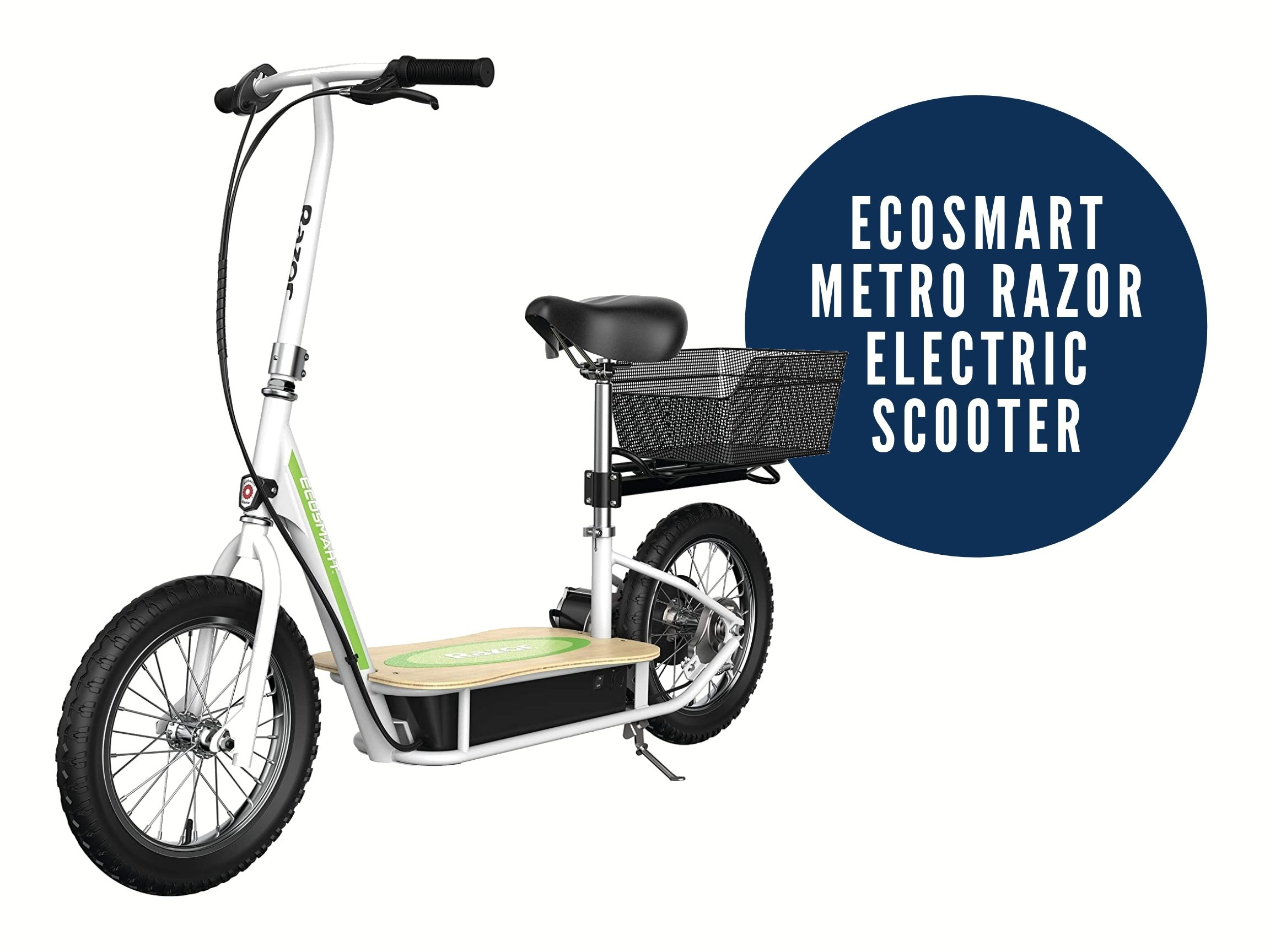 razor ecosmart electric scooter with seat