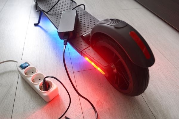 charge your electric scooter